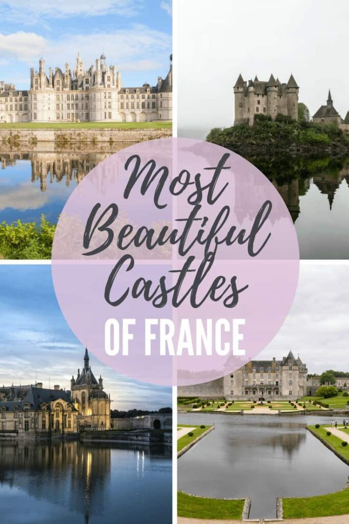 France is home to many beautiful castles. But knowing which ones are worth a visit can be tricky. To help, we've compiled a list of the 20 Best Castles in France to visit on your next holiday! #france #castles #chateau #travel #europe