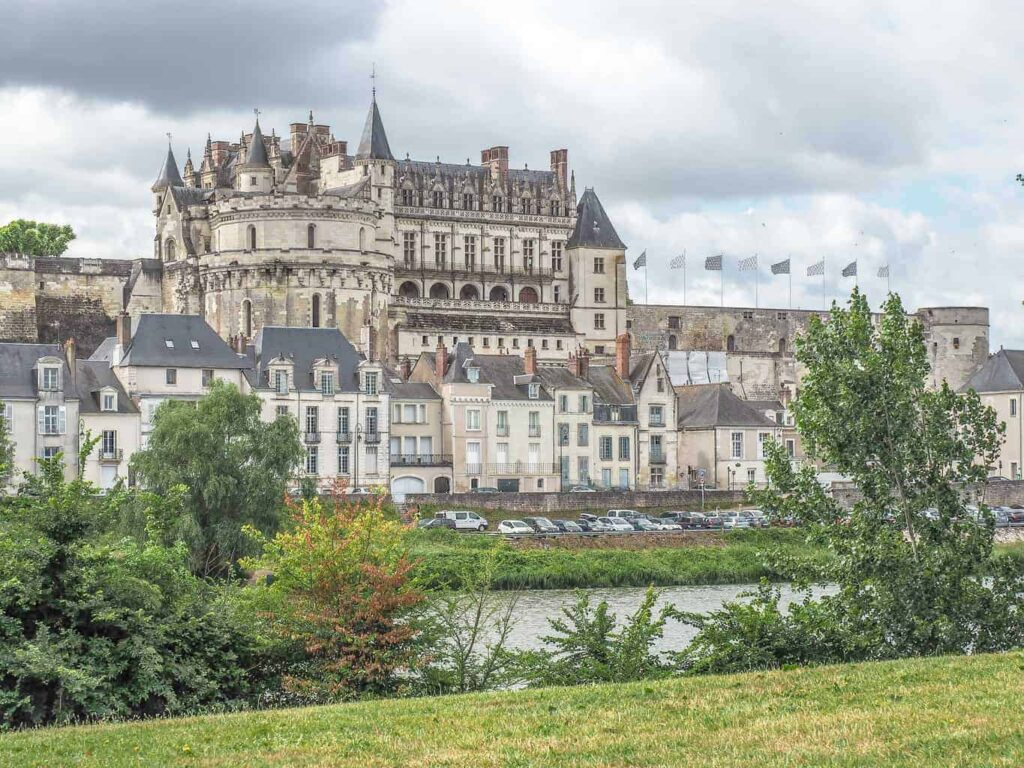 Château d'Amboise is one of the most beautiful castles in France