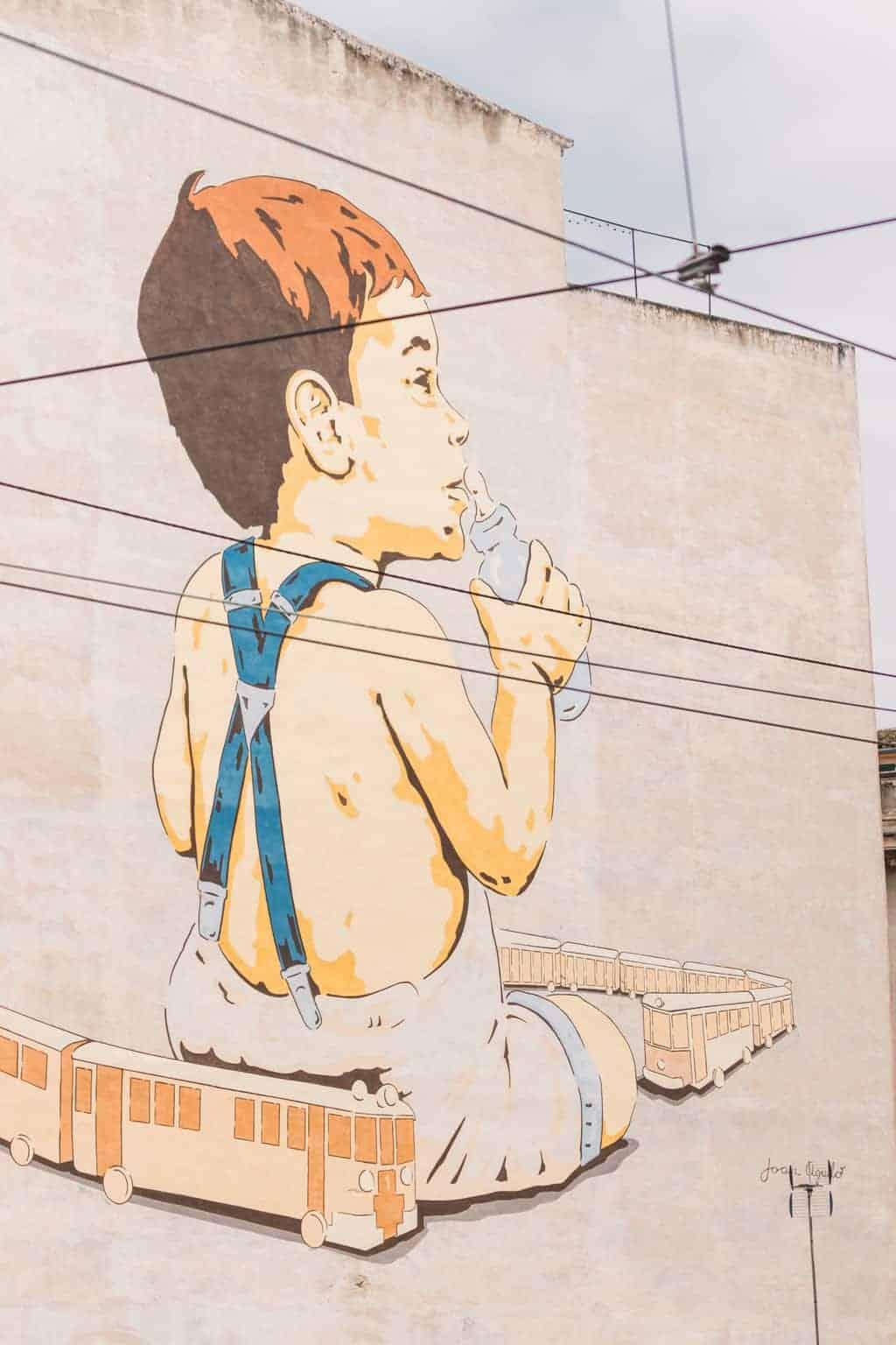 Street art in Palma, Mallorca