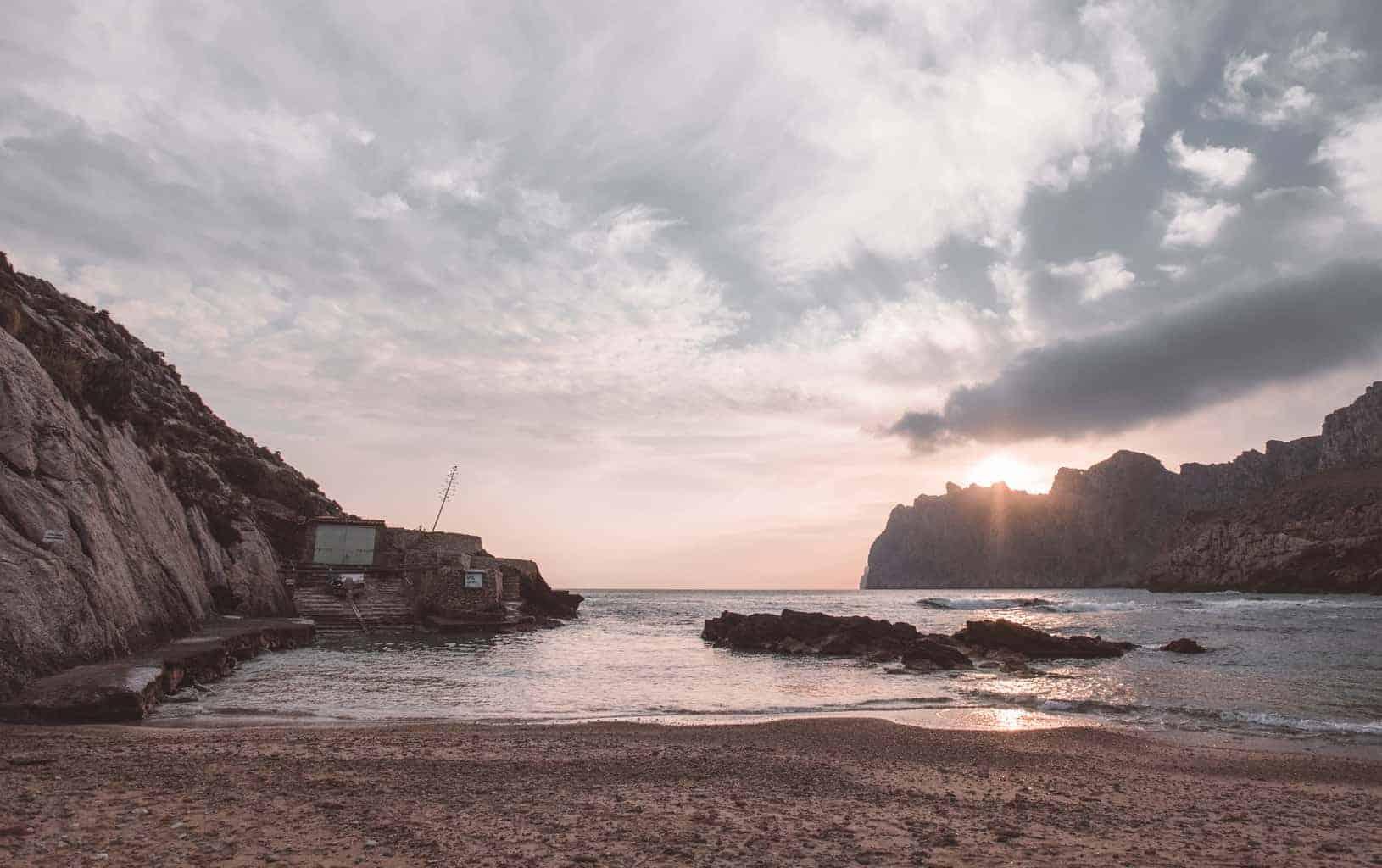 Cala Vincenc beach in Mallorca
