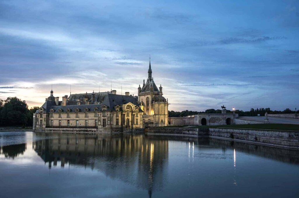Château de Chantilly is one of the most beautiful castles in France