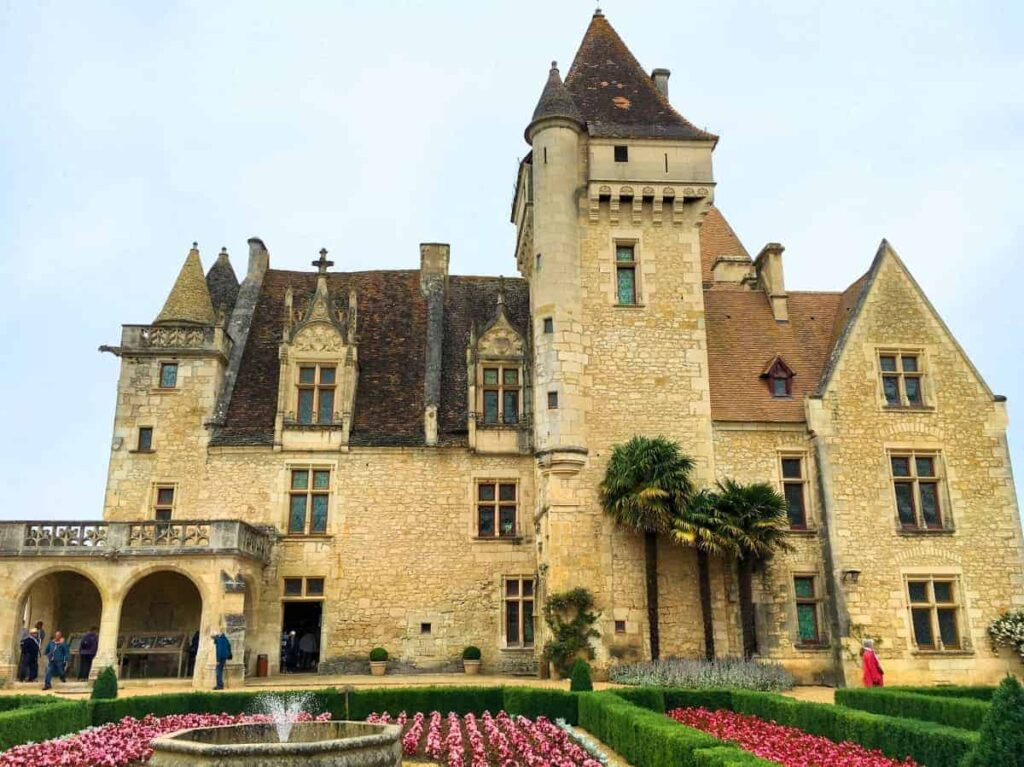 Château des Milandes is one of the most beautiful castles in France