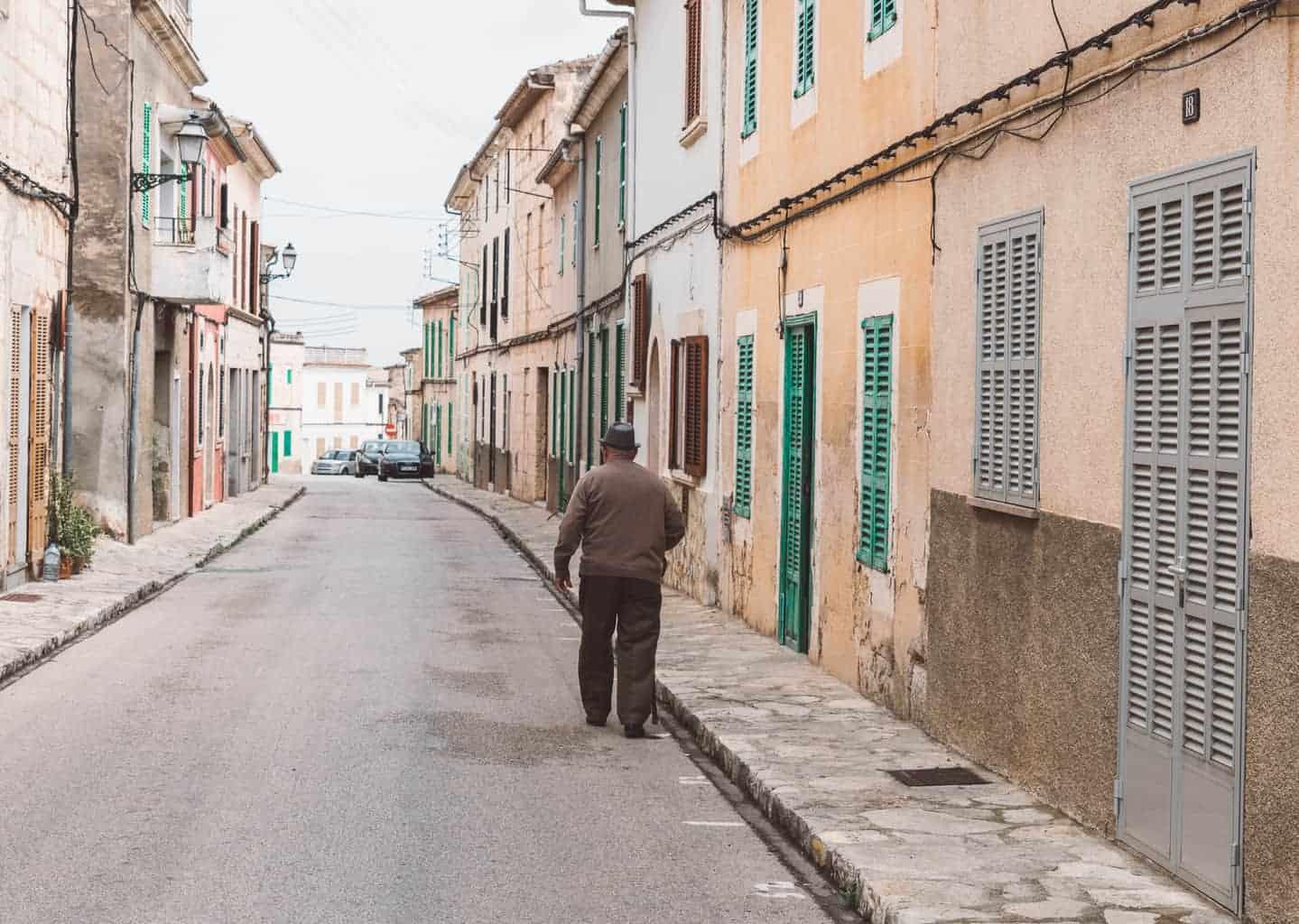 Village Streets of Mallorca
