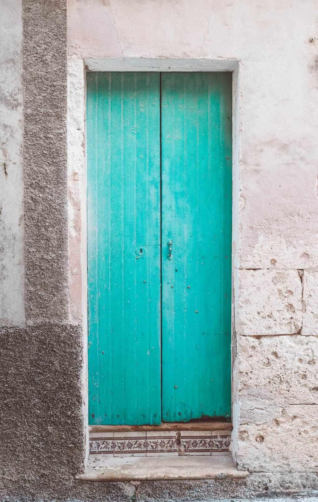 Village doors in Mallorca, Spain