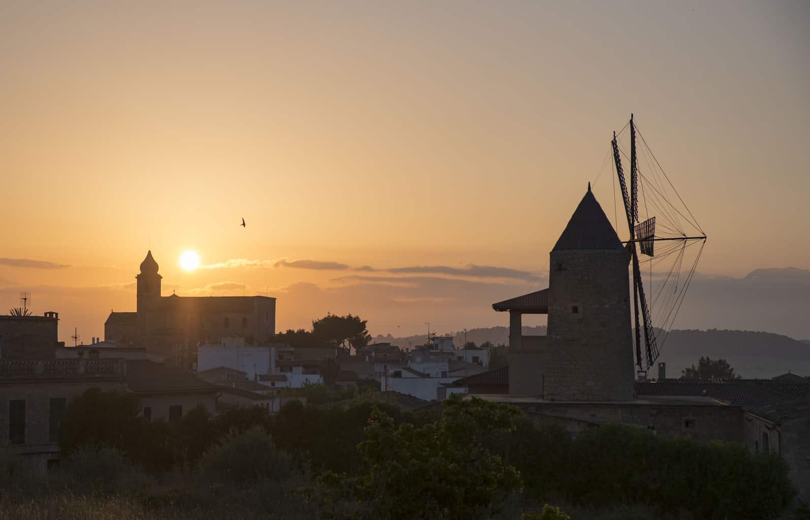 Sunrise in Mallorca, Spain