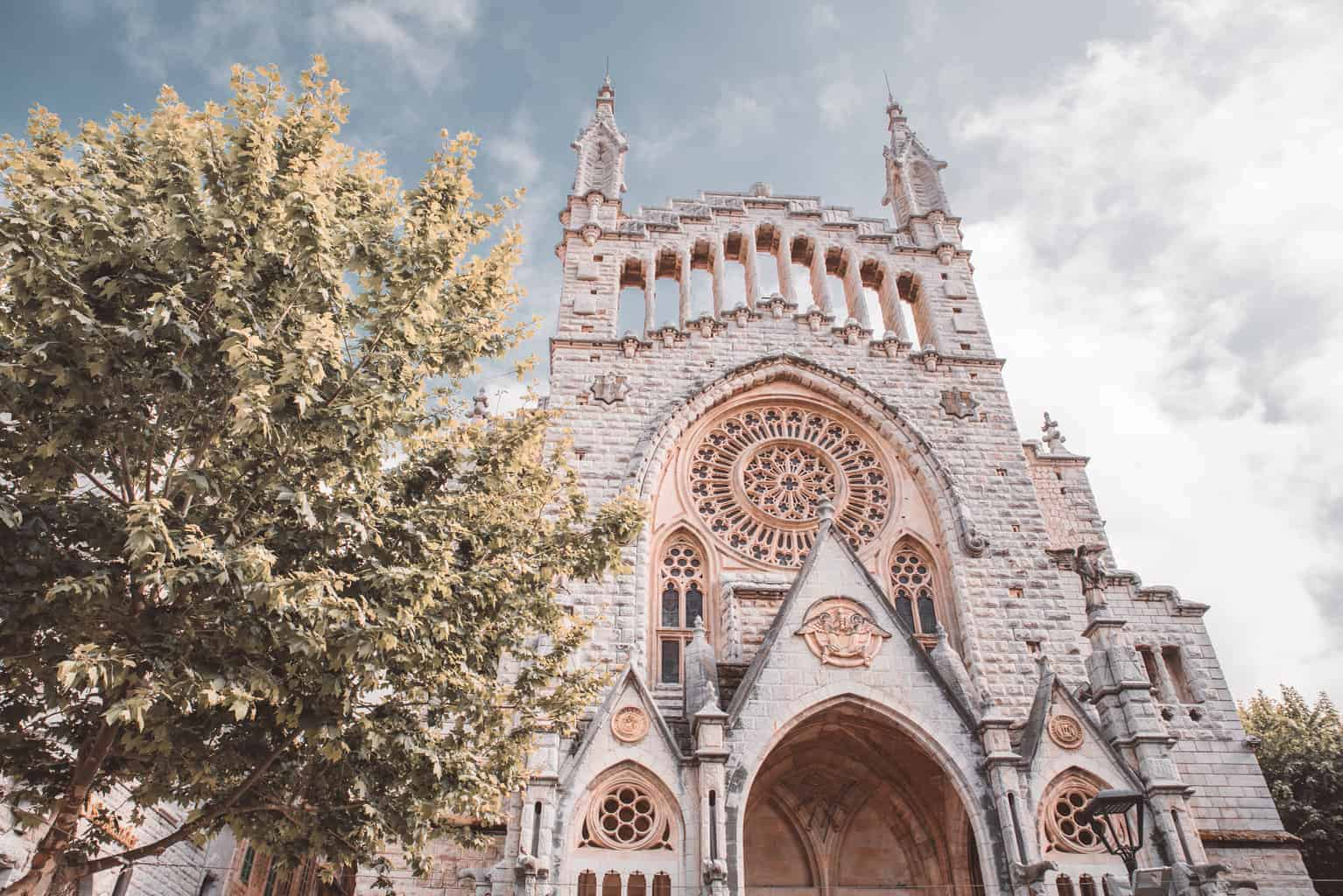 Church in Soller, Majorca
