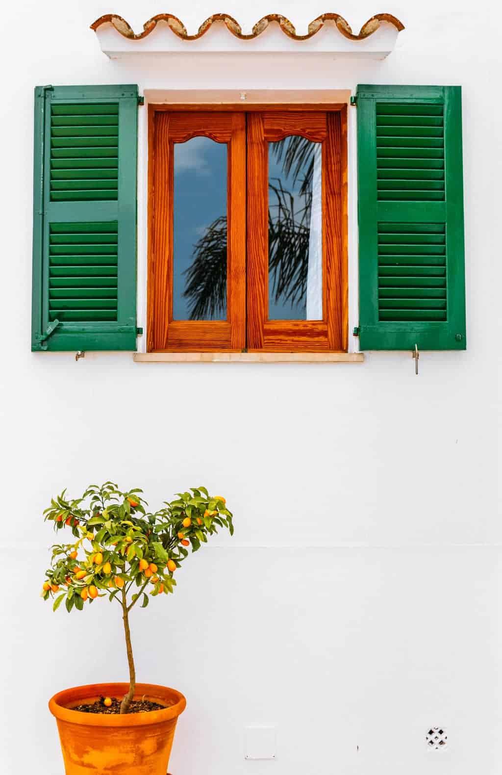Windows of Majorca, Spain