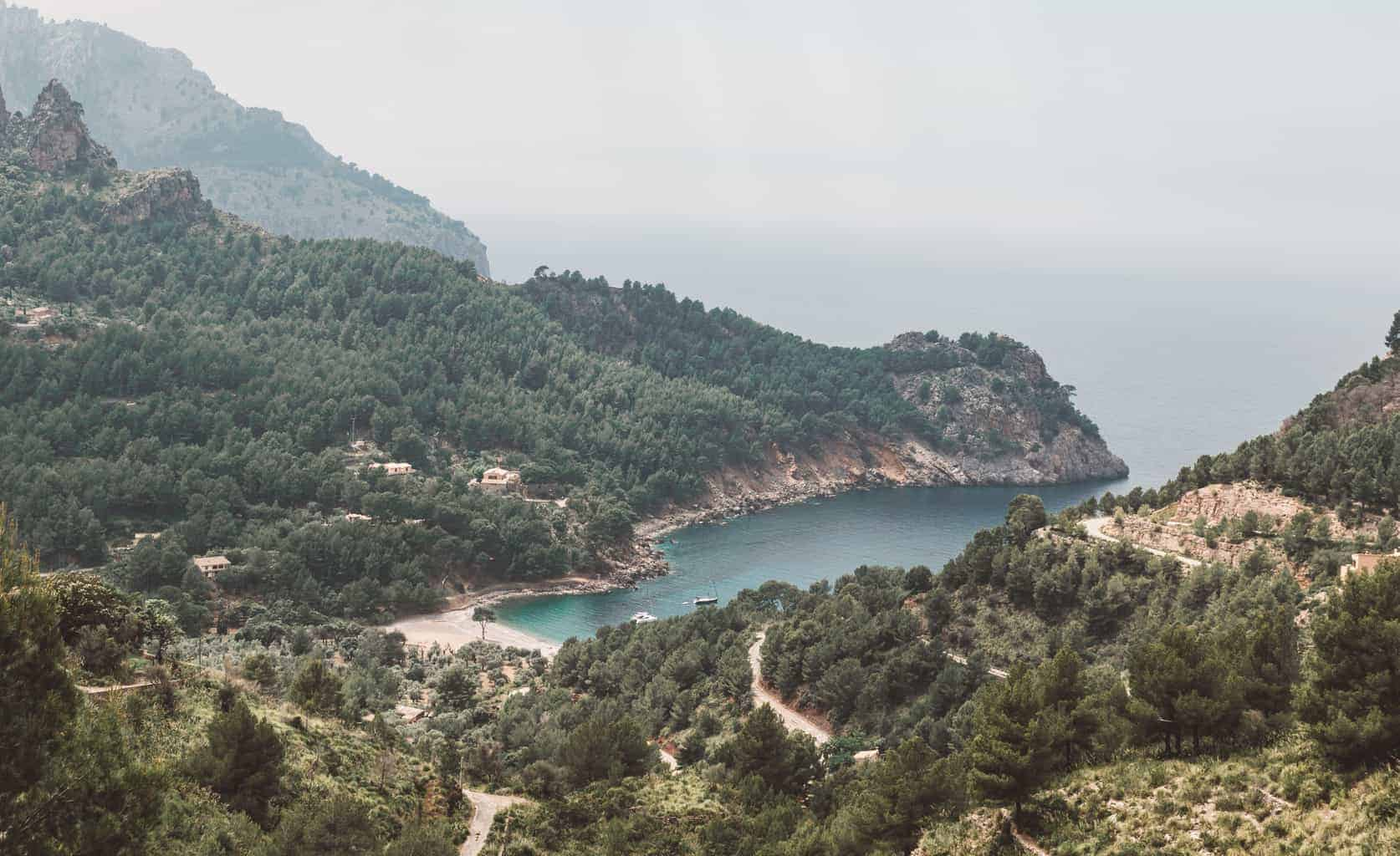 Cala Tuent in Mallorca