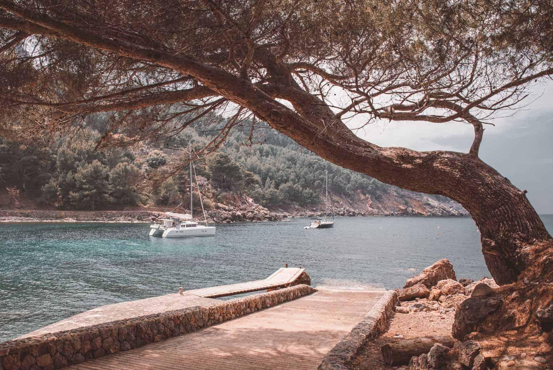 Tuent beach in Mallorca.