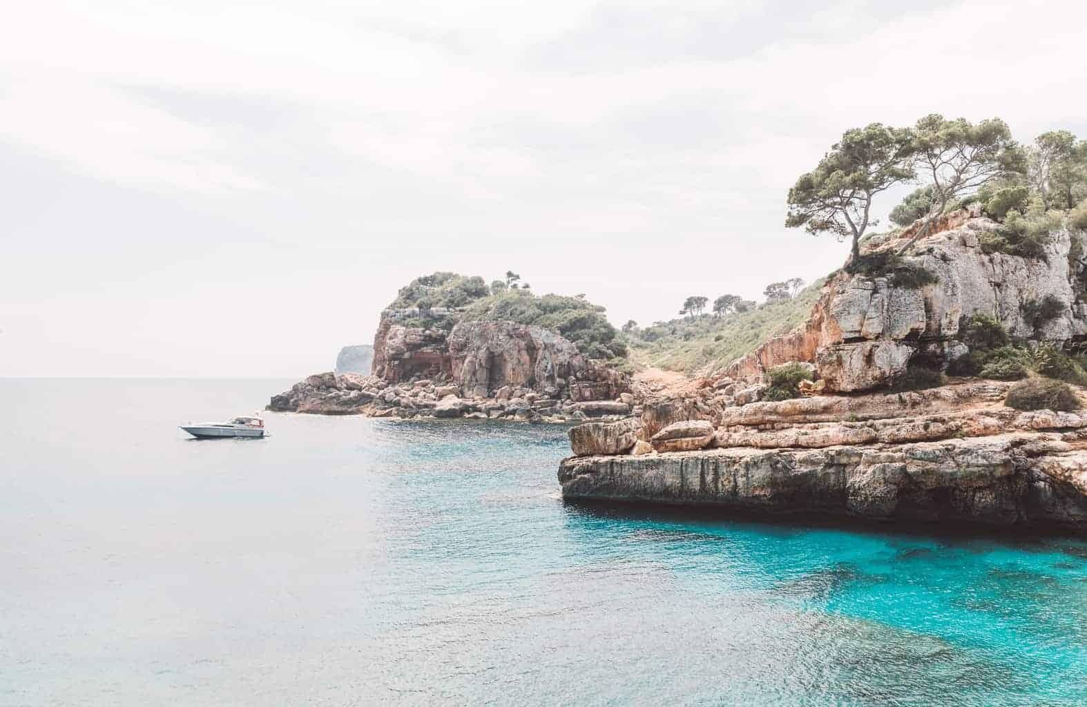 Boat in Mallorca, Spain