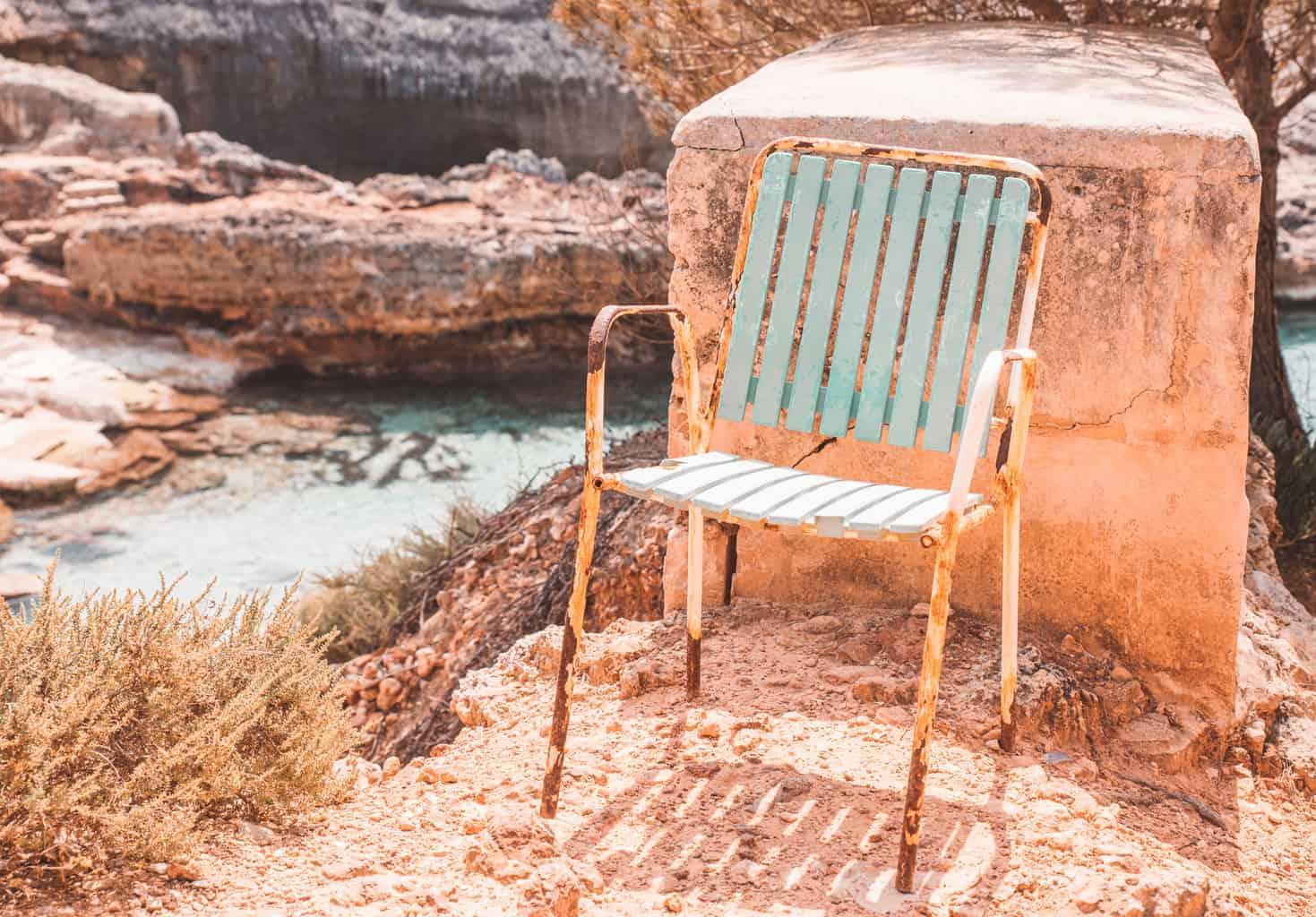 Chari by the beach in Mallorca, Spain