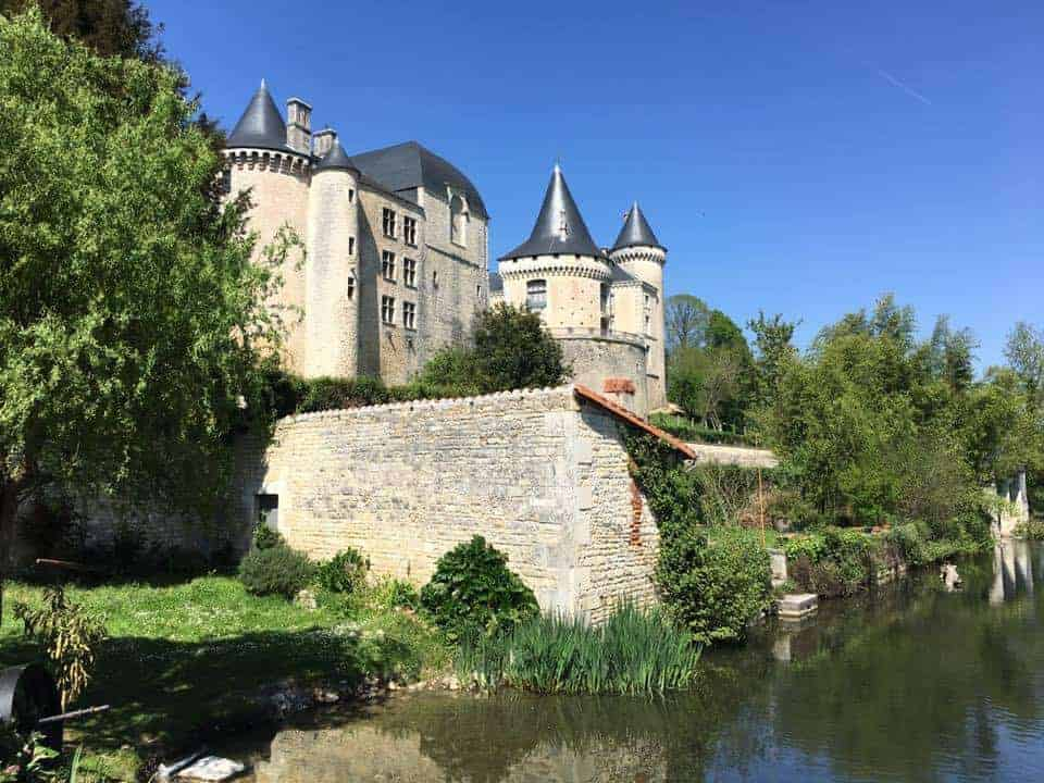 Château de Verteuil is one of the best castles in France