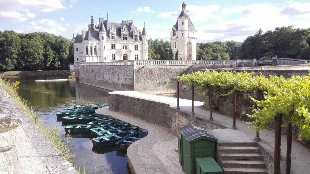 Chenonceau is one of the most beautiful castles in France