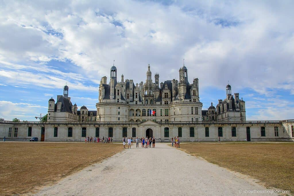 Château de Chambord id one of the best castles in France