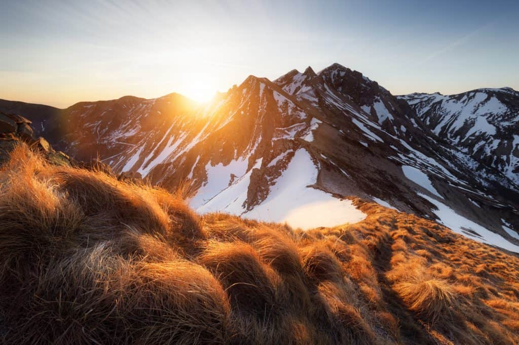 The Massif de Sancy is one of the most incredible hiking trails in Auvergne, France.