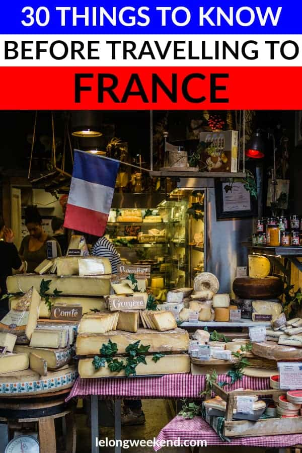 If you're planning a trip to France, be sure to read this first! Everything you need to know before travelling to France. #france #travel #french #vacation #holiday