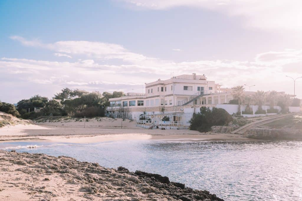 Costa Merlata Beach in Puglia italy