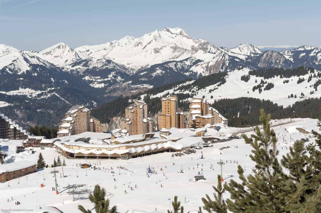 The ski break — Avoriaz, French Alps