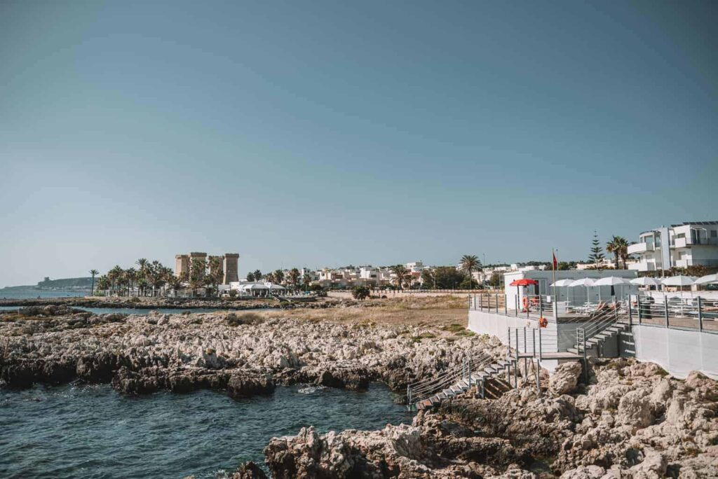 Salsedine is one of the best places to swim in Puglia.