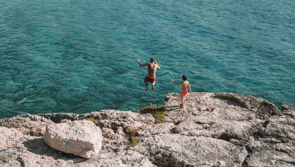 Santa Maria al Bagno is one of Puglia's best beaches.