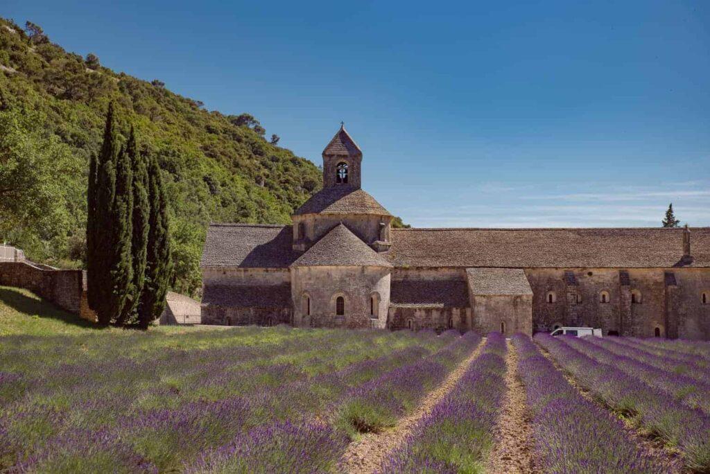Abbey de Senanque near Gordes in Provence, France