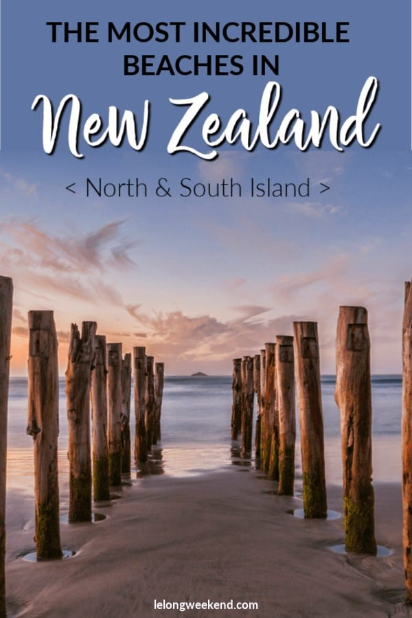 New Zealand's coastline is home to many incredible beaches. We reveal the best beaches in New Zealand, as voted by those in the know! From the where to find the best surf spots in New Zealand, to the most famous beaches in New Zealand, we're got them all covered. #newzealand #beaches #surf #hotwaterbeach #northisland #southisland #swimming #beachholiday