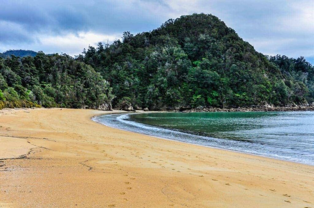 Torrent Bay in Abel Tasman National Park is one of New Zealand's best beaches.