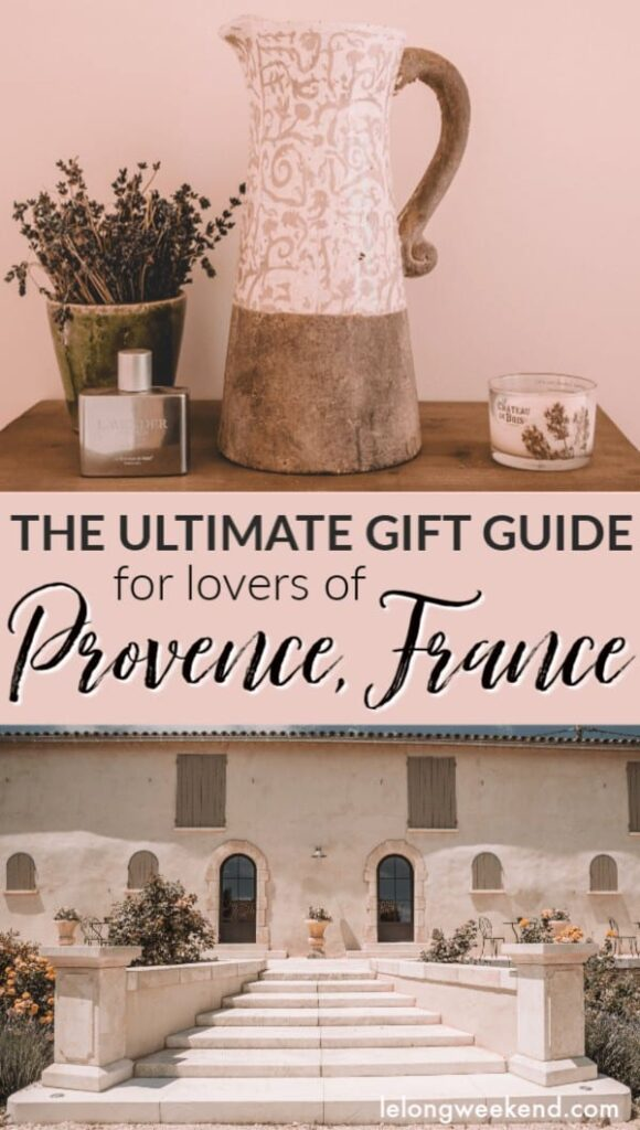 Looking for a Provence-themed gift? These French gifts are sure to please anyone who loves the South of France. #provence #france #giftguide