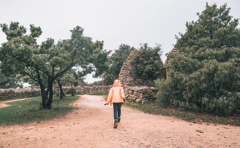 Visiting the village des bories in Gordes is a great thing to do with kids in Provence.