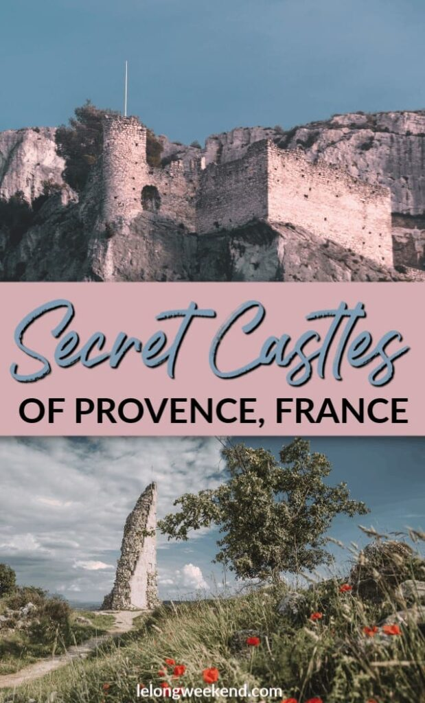 Discover the hidden castles in Provence, France. These incredible Provence châteaux have weathered wars and natural disasters, and today offer visitors the chance to explore a different side of Provence.
