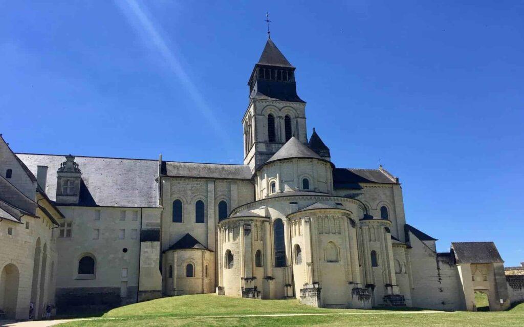 Abbey of Fontevraud - Stunning attraction in the Pays de la Loire region of France.
