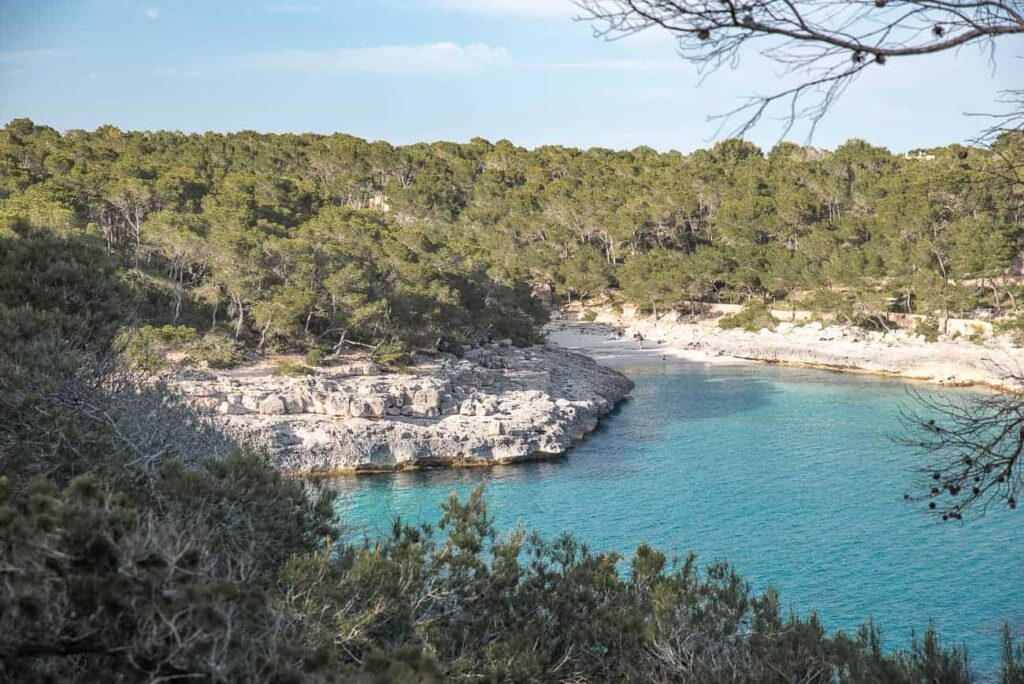 The most beautiful beaches in Majorca Spain.
