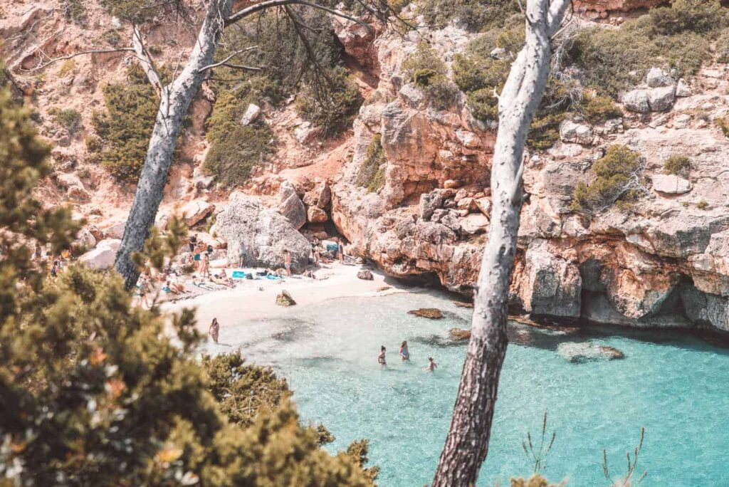 Cala des Moro is one of the most beautiful beaches in Mallorca.