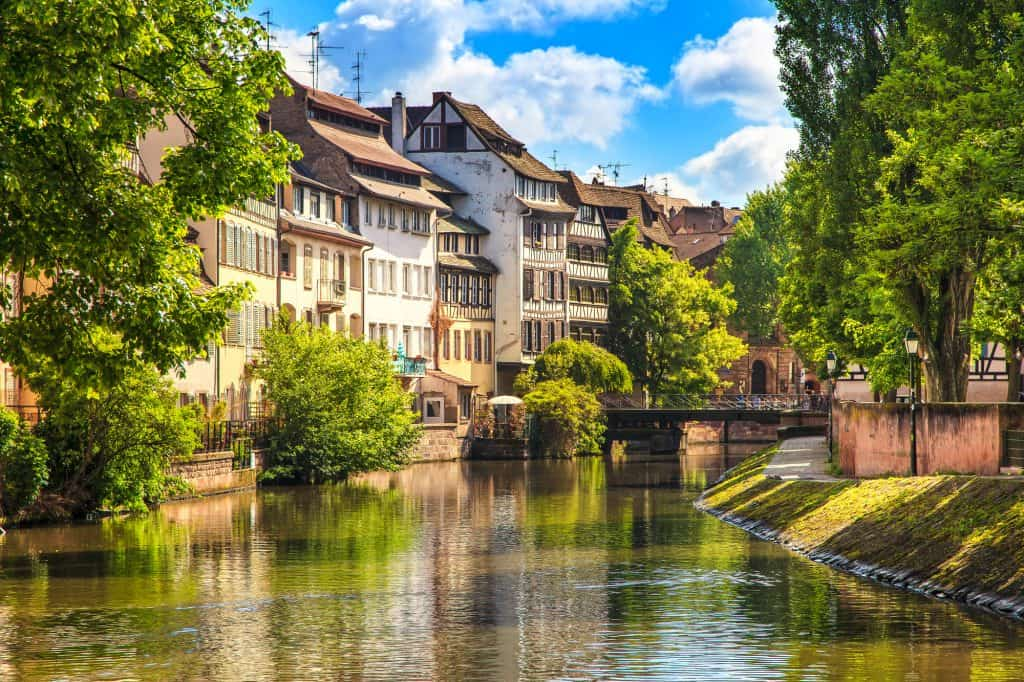 Strasbourg, in Alsace, is one of the best places to visit in France.