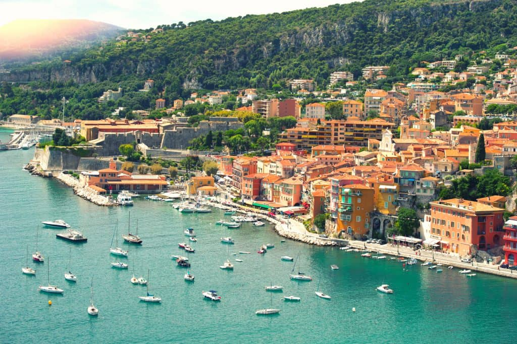 The French Riviera is one of the most beautiful places in France to visit.