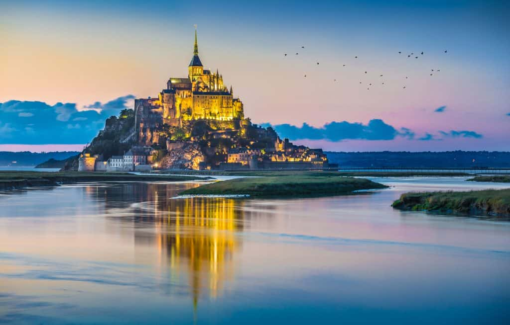 Mont Saint-Michel in Normandy is one for your French bucket list!