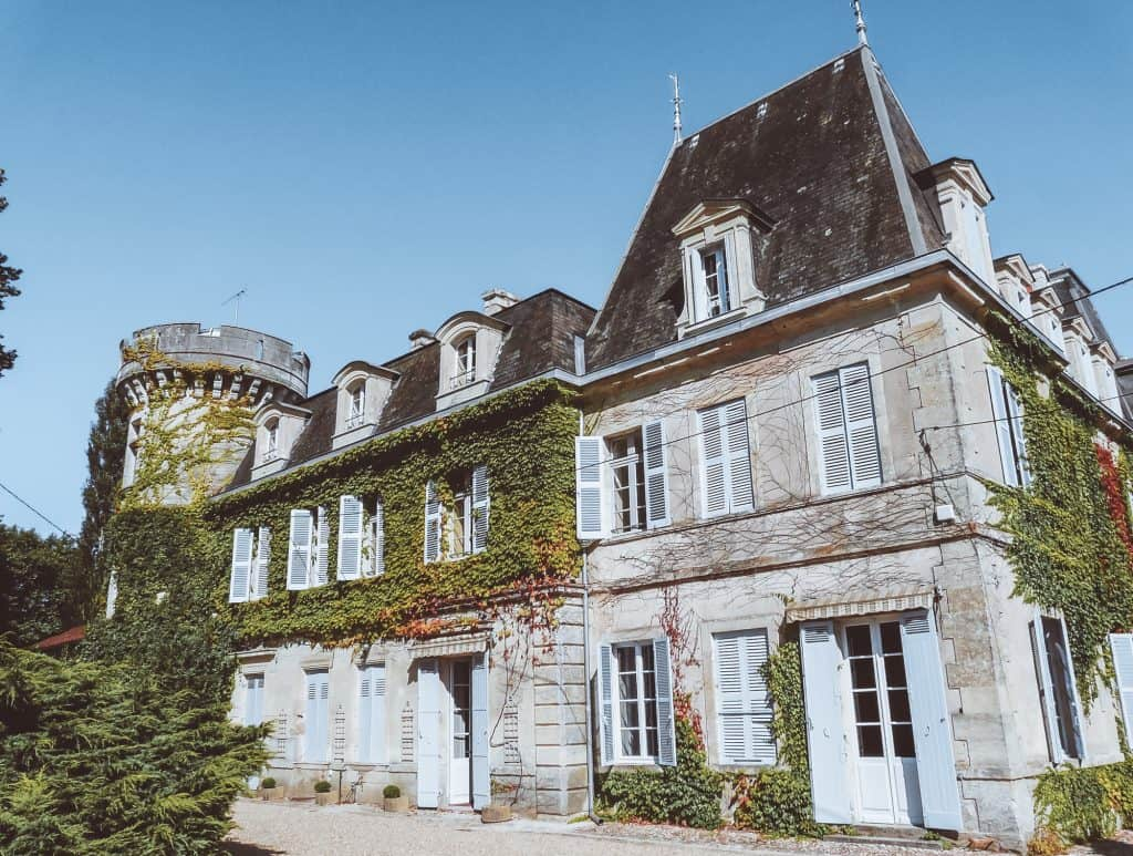 Château de Lalande is one of the Best Château Hotels in France