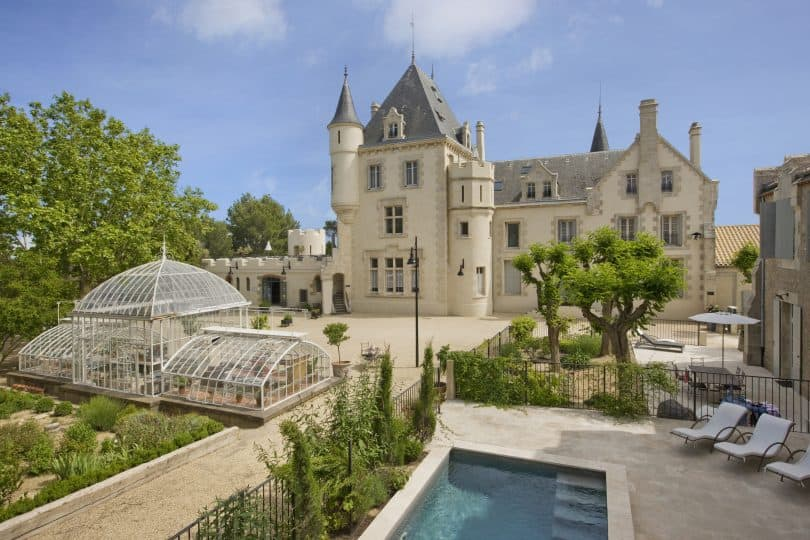 Château Les Carrasses - one of the most stunning Chateau Hotels in France