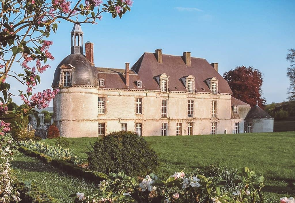 Château d'Étoges is one of the most beautiful castle hotels in France
