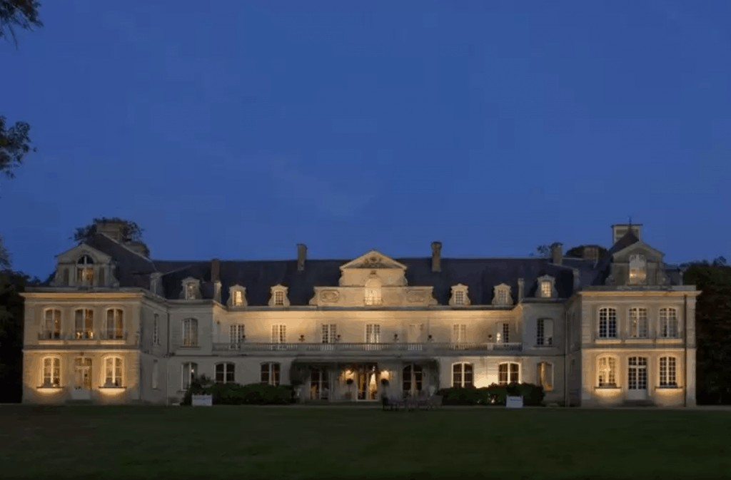 Château des Briottières is one of the best chateau hotels in France