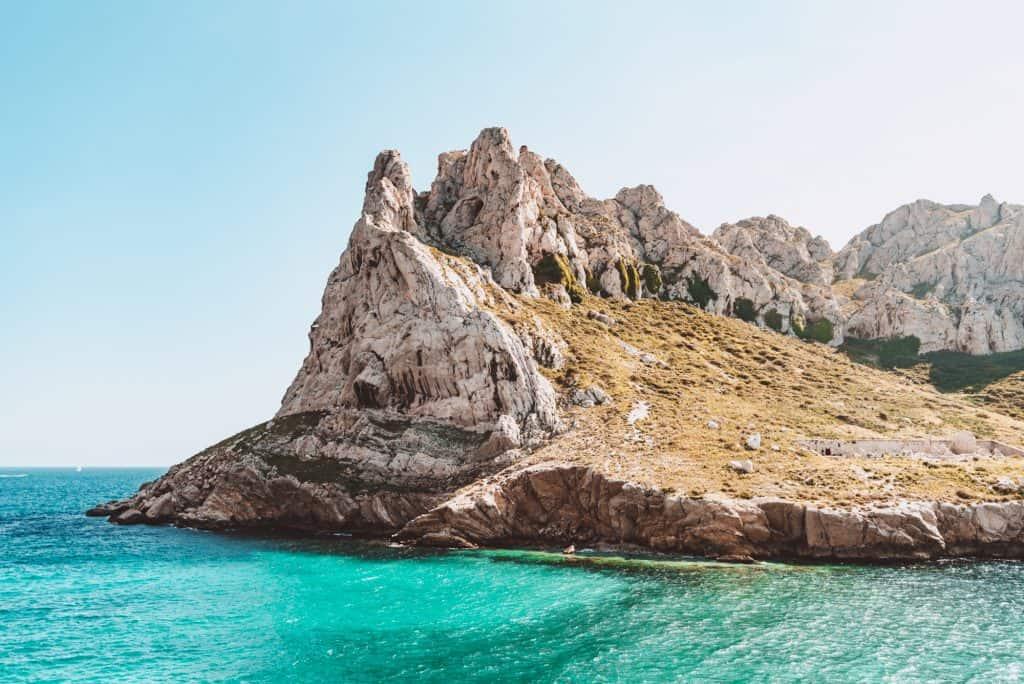 The Baie des Singes - Monkey Bay - near Les Goudes in Marseille