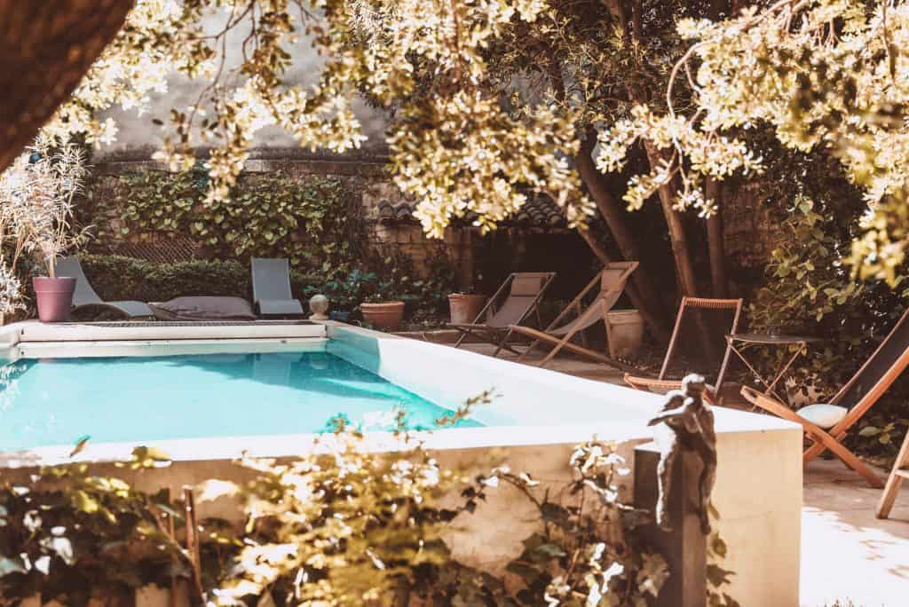 Les Jardins de Baracane, Accommodation in Avignon