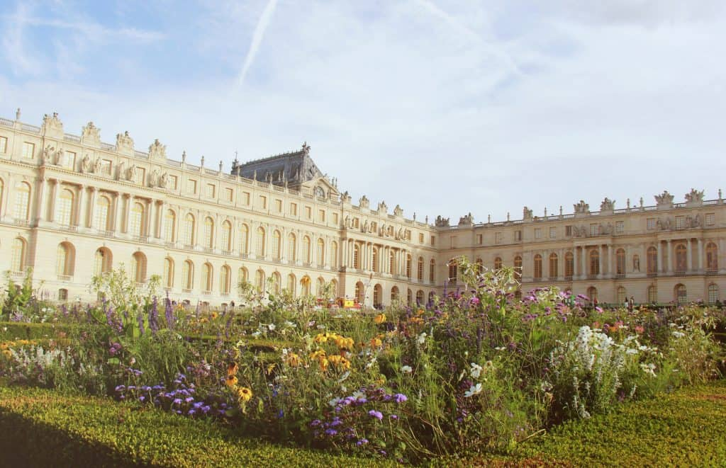 The palace of Versailles is a great day trip from Paris