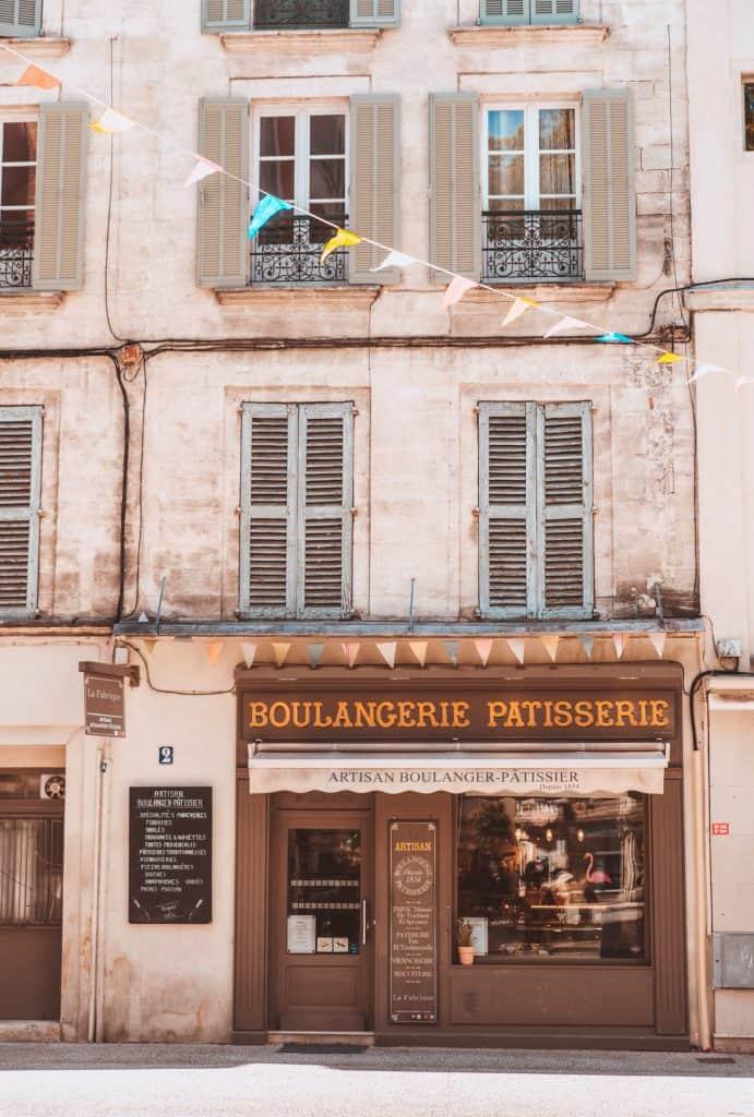 Boulangerie in Avignon, France