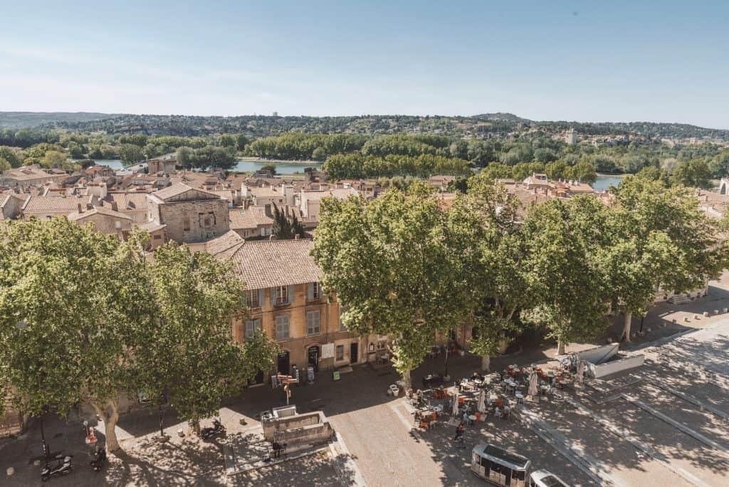 Place du Palace, Avignon, France