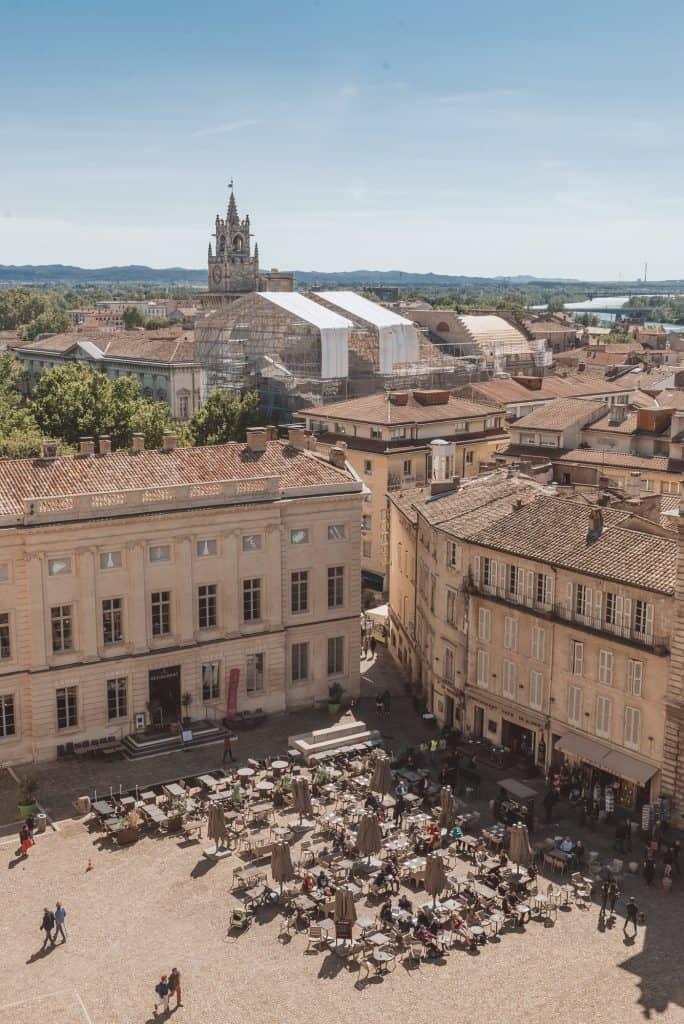 Place du Palais, Avignon, France