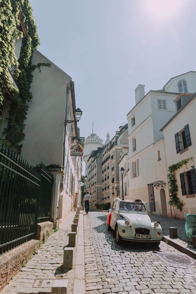 One of the best places to stay in Paris is Montmarte.