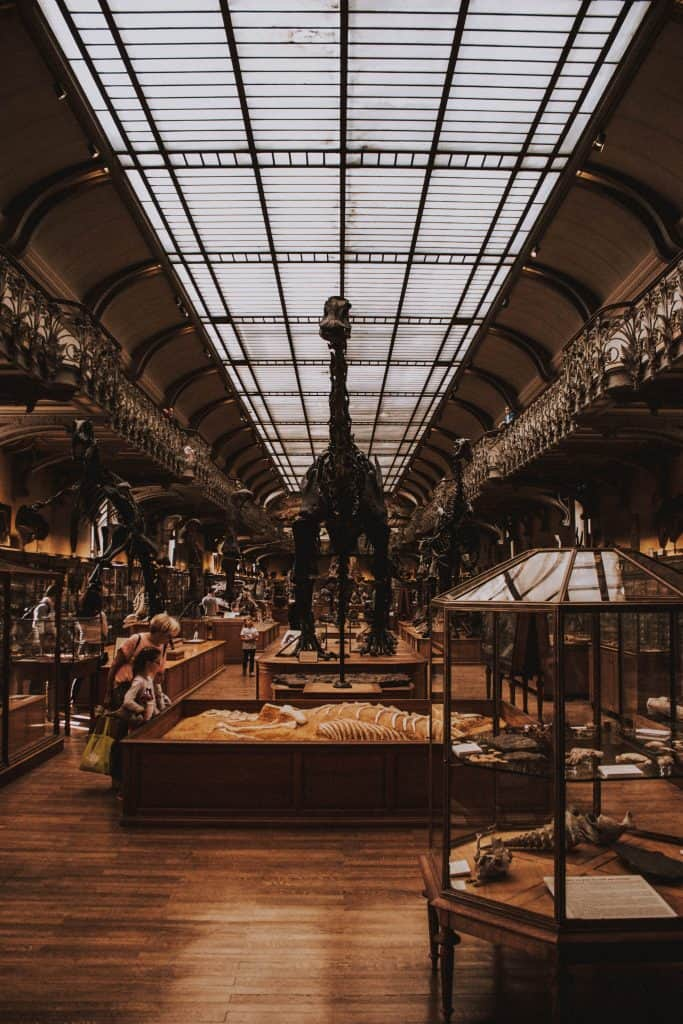 natural history museum in Paris, France