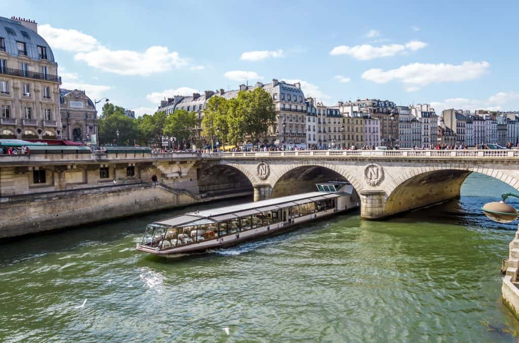 Seine River Cruise in Paris, France