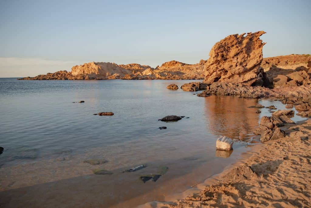 Cala Pregonda in Menorca, Spain
